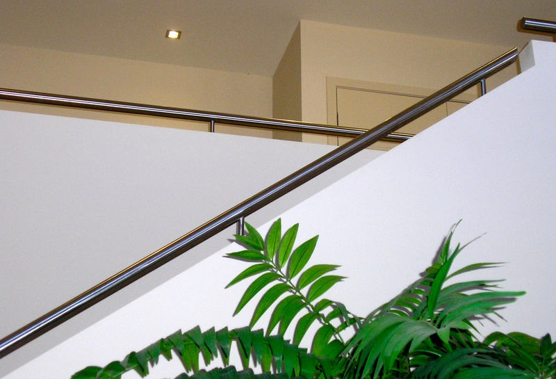 Decorative Rail on Stairs