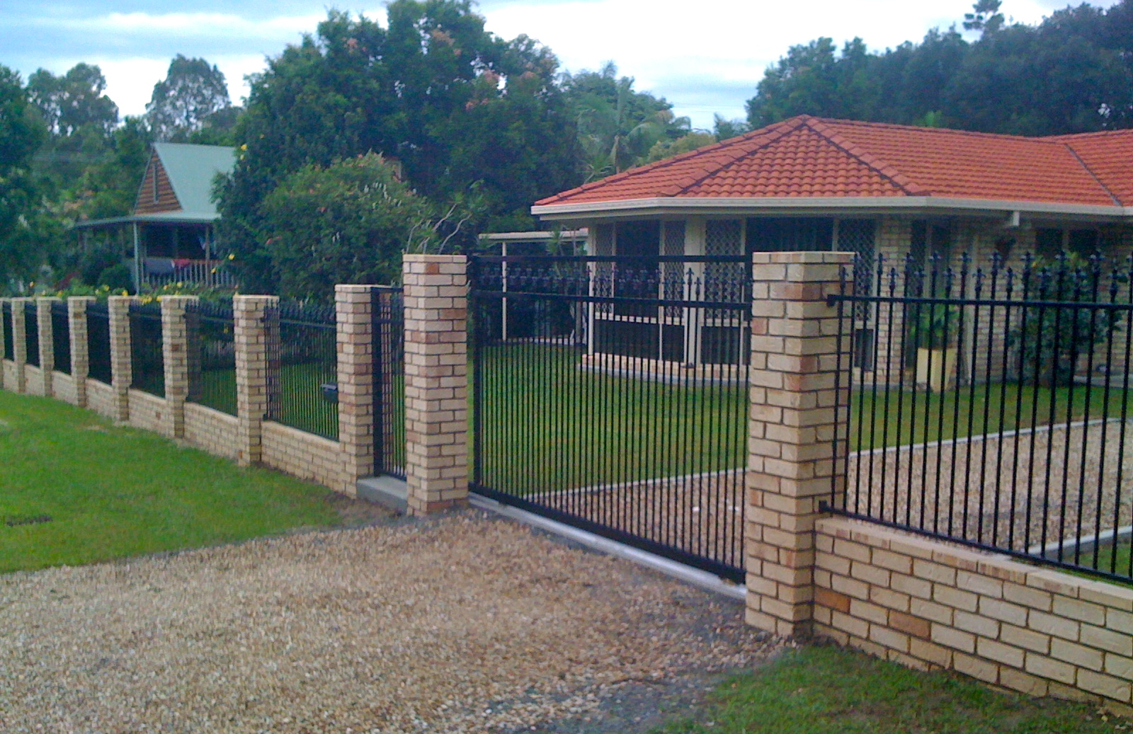 Fence Gates Brick Fences And Gates